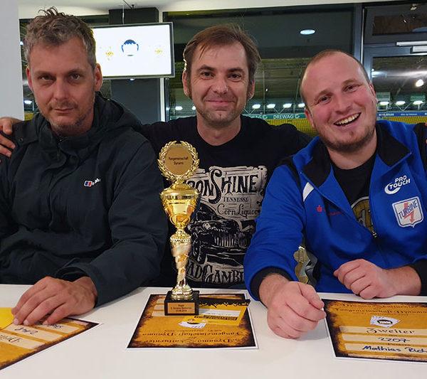 Preisträger beim 4. Dynamo-Skatturnier