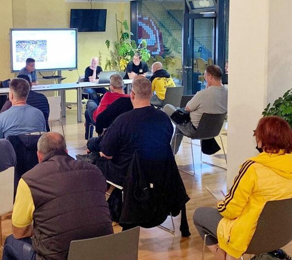 Mitgliederversammlung 2021 im Rudolf-Harbig-Stadion