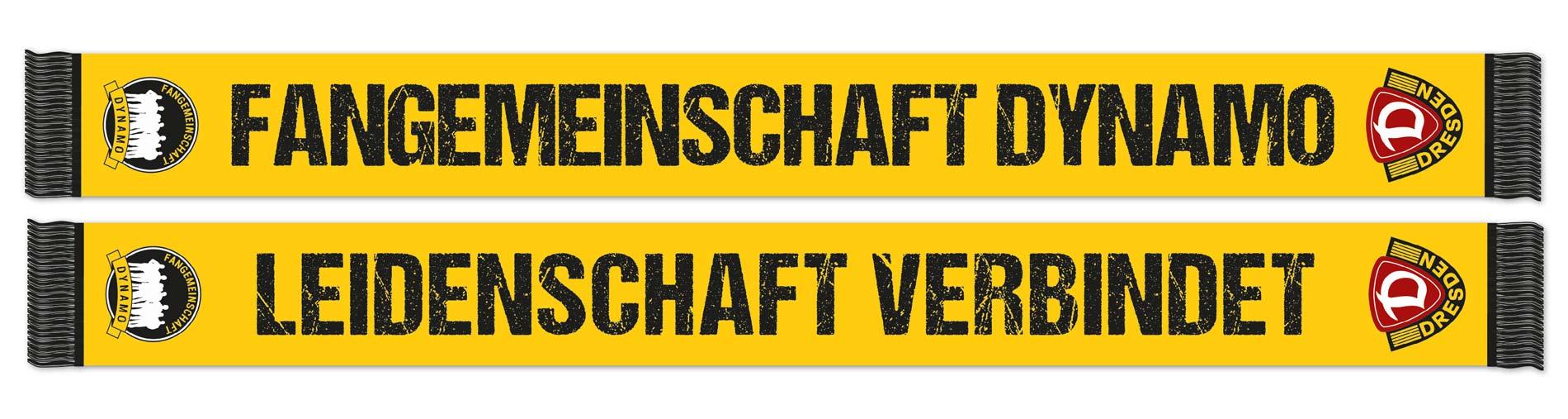 Seidenschal mit Dynamo-Logo